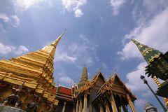 Grand palace of thailand Royalty Free Stock Photography