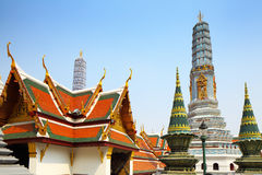 Grand palace in Thailand Stock Image