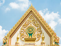 Grand Palace in Thailand. Detail at the Grand Palace in Thailand Stock Photo