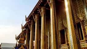 Grand Palace in Thailand stock images