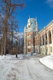 The Grand Palace in Tsaritsyno, Moscow, Russia Royalty Free Stock Image