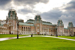 Grand Palace in Tsaritsyno Mosow Stock Photo