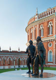 The grand palace in Tsaritsyno park in Moscow. Stock Photo
