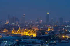 Grand palace at twilight Stock Photo