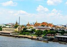 Grand Palace. Grand Palace from Wat Arun Stock Photography