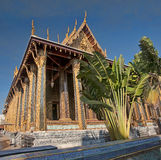 Grand Palace and Wat Phra Kaeo in Bangkok Royalty Free Stock Photo
