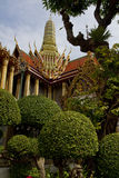 The Grand Palace (Wat Phra Kaeo) in Bangkok, Thailand Royalty Free Stock Photo