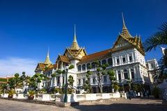 Grand Palace and Wat Phra Kaeo. Shoot In Wat Phra Kaeo Royalty Free Stock Image