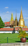 Grand Palace and Wat Phra Kaew,Bangkok,Thailan Stock Photos