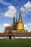 The Grand Palace & Wat Phra Kaew (The Emerald Buddha Temple), Bangkok, Thailand. landmark of Thailand. Stock Photography