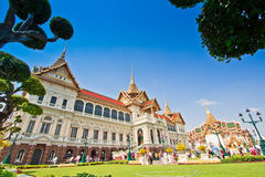 Grand Palace at Wat Phra Kaew Stock Photo