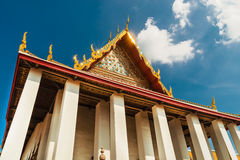 Grand palace at Wat Phra Kaew temple, Bangkok Royalty Free Stock Images