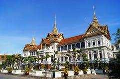 Grand palace and Wat Phra Kaew Stock Photo