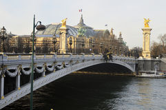The Grand Palais Royalty Free Stock Images