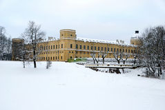 Grand palais de Gatchina Image libre de droits
