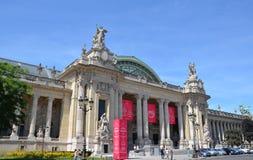 Grand Palais des Champs-Elysees, Paris. PARIS - AUG 13: The Grand Palais des Champs-Elysees in Paris, France is shown on August 13, 2016. It was built for the stock image