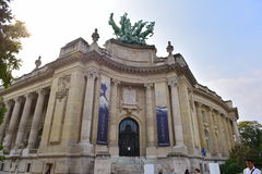 Grand Palais des Champs-Elysees in Paris Stock Photography