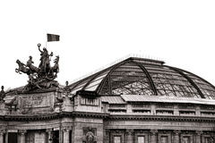 Grand Palais Exhibit Hall Museum in Paris France Stock Photography