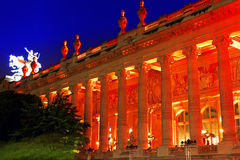 Grand Palais (Grand Palace) in Paris, France. Royalty Free Stock Images