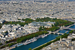Grand Palais het museum van le en Le-Petit Palaismuseum, Parijs, Frankrijk Royalty-vrije Stock Afbeelding