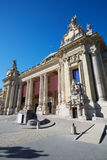 Grand Palais palace in a sunny day, blue sky in Paris Stock Photo