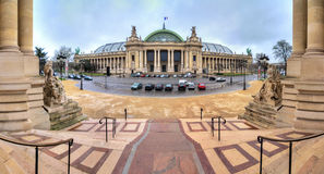 Grand Palais panorama Stock Images