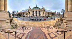Grand Palais panorama Stock Images