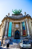 Grand Palais in Paris. Grand Palais building museum in Paris, France royalty free stock photos
