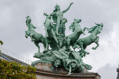 Grand Palais Paris France Stock Images