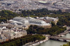 Grand Palais and Petit Palais Stock Photos
