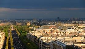 Grand Palais skyline Stock Photos