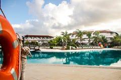 Grand Palladium resort royalty free stock photos