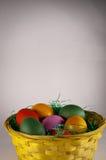 Grand panier de Pâques Photo stock
