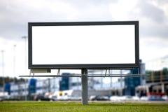 Grand panneau d'affichage Image libre de droits