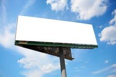 Grand panneau de publicité Photo stock