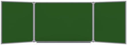 Grand panneau vert magnétique Photos libres de droits