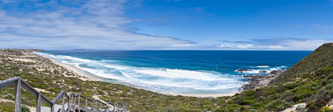 Grand panorama australien de plage photo libre de droits