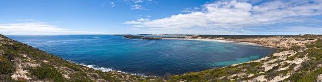 Grand panorama côtier australien d'horizontal Image stock
