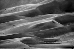 Grand parc national de dunes de sable Photographie stock