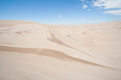 Grand parc national de dunes de sable dans le Colorado Images libres de droits