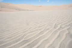 Grand parc national de dunes de sable dans le Colorado Photos libres de droits