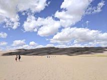 Grand parc national de dunes de sable Photos stock