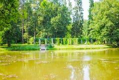Grand parc vert Photographie stock