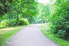 Grand parc vert Photos stock