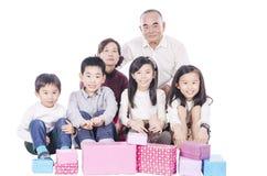Grand-parent et petit-enfant Images stock