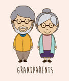Grand parents design Royalty Free Stock Photo