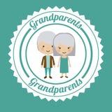 Grand parents design Stock Photography