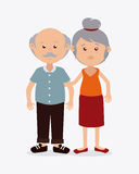 Grand parents design Royalty Free Stock Photo