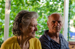 Grand parents Royalty Free Stock Images