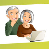 Grand Parents royalty free stock photo
